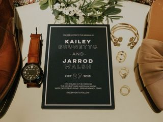 The wedding of Kailey and Jarrod 2