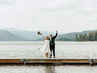 The wedding of Rose and Jared
