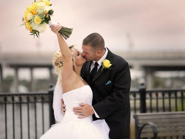 The wedding of Becki and Glenn