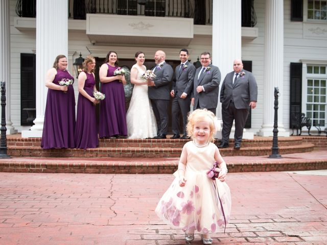 Andrew and Alyssa's Wedding in Simpsonville, South Carolina 9