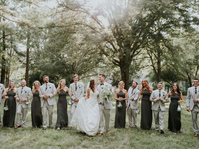 James and Brittany's Wedding in Cary, North Carolina 34