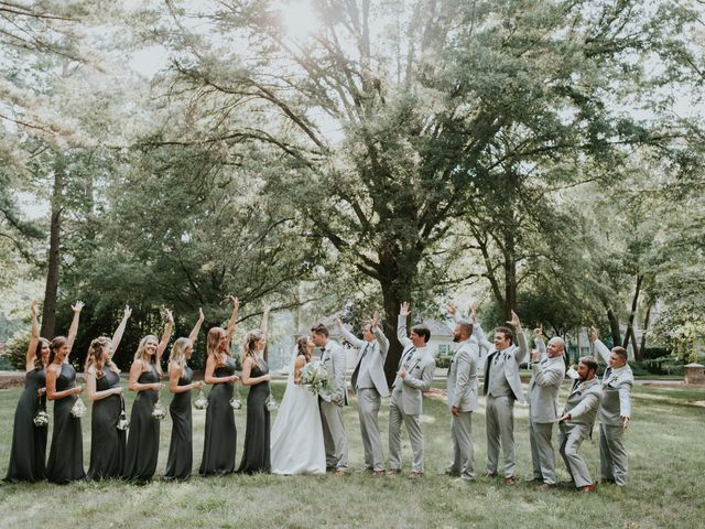 James and Brittany's Wedding in Cary, North Carolina 35