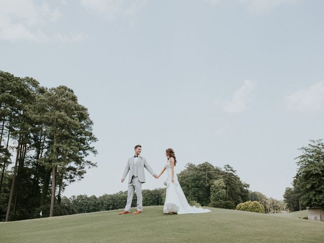 James and Brittany's Wedding in Cary, North Carolina 38