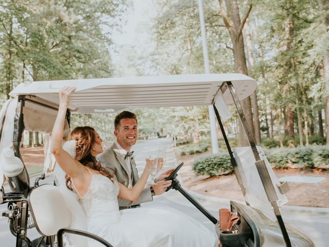 James and Brittany's Wedding in Cary, North Carolina 62