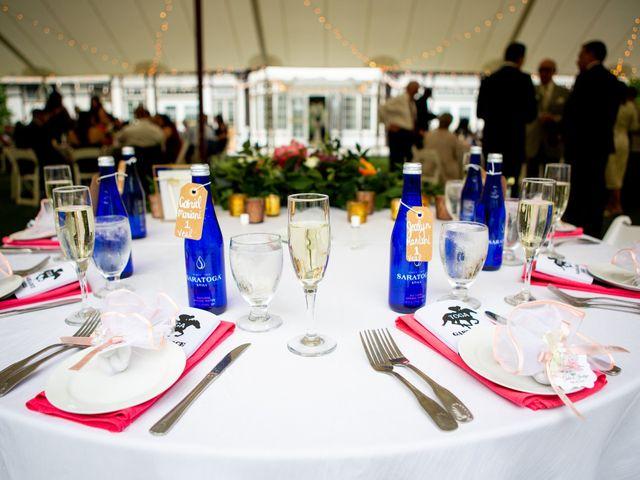 Gabe and Jocelyn's Wedding in Saratoga Springs, New York 10