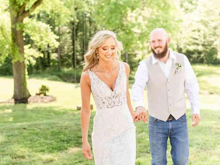 The wedding of Brianna and Kaleb