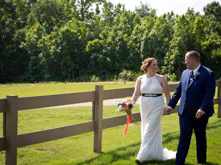 The wedding of Erin and Doug