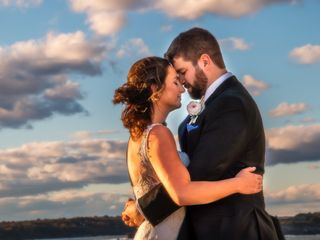 The wedding of Stephanie and Ben