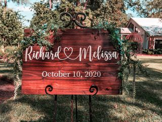 The wedding of Melissa and Richard 1