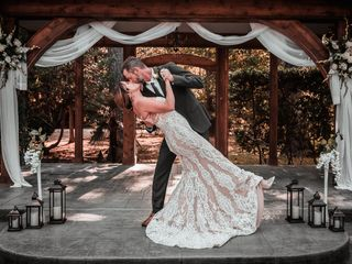 The wedding of Melissa and Richard