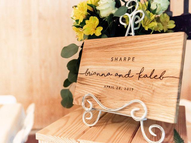 Kaleb and Brianna's Wedding in Staley, North Carolina 2