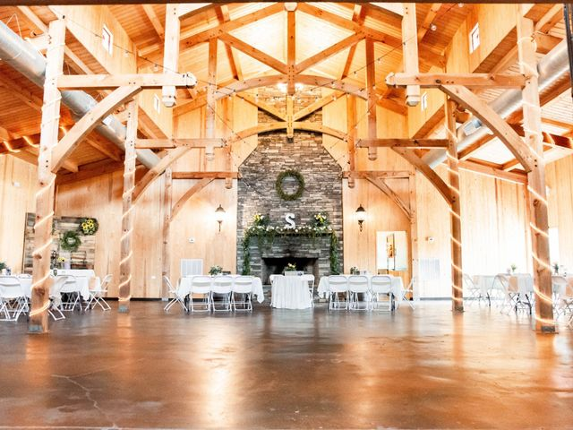 Kaleb and Brianna's Wedding in Staley, North Carolina 6