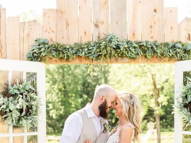 Kaleb and Brianna's Wedding in Staley, North Carolina 8