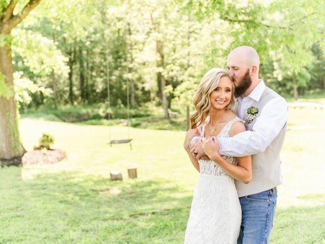 Kaleb and Brianna's Wedding in Staley, North Carolina 9
