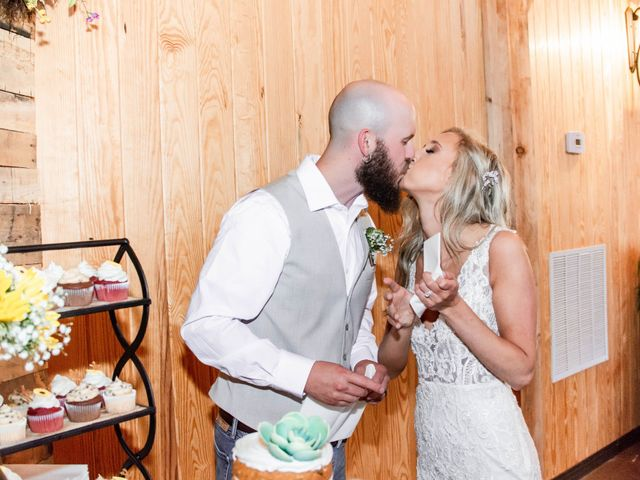 Kaleb and Brianna's Wedding in Staley, North Carolina 11