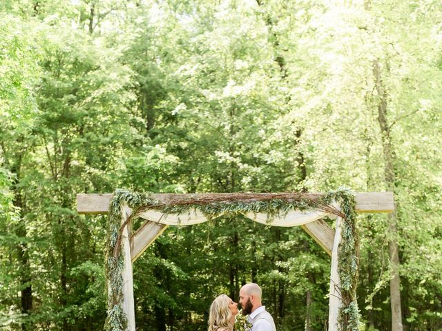 Kaleb and Brianna's Wedding in Staley, North Carolina 12