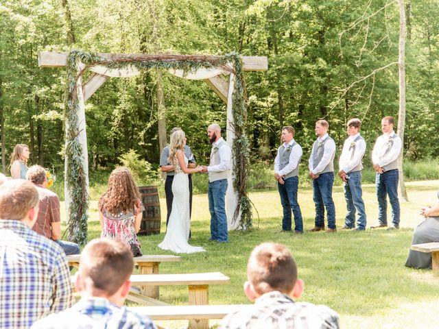 Kaleb and Brianna's Wedding in Staley, North Carolina 15