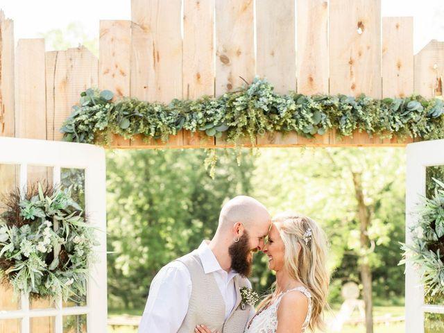 Kaleb and Brianna's Wedding in Staley, North Carolina 17