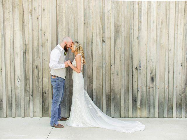 Kaleb and Brianna's Wedding in Staley, North Carolina 20