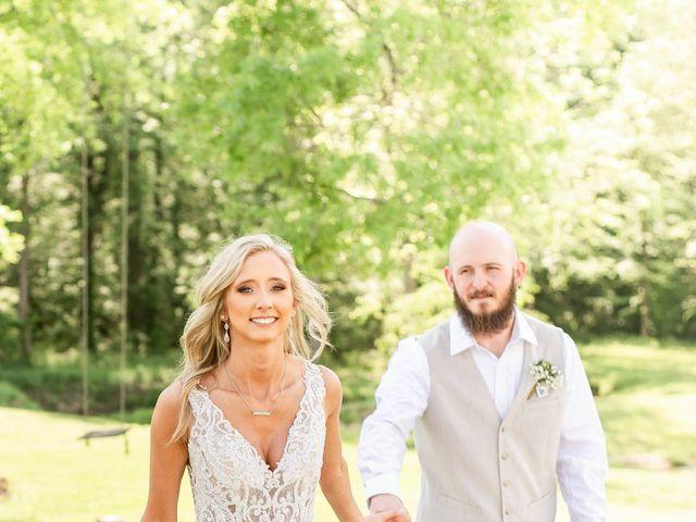 Kaleb and Brianna's Wedding in Staley, North Carolina 27