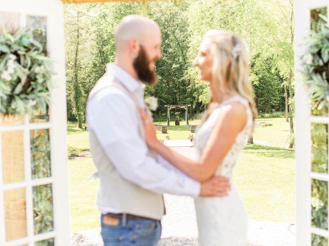 Kaleb and Brianna's Wedding in Staley, North Carolina 31