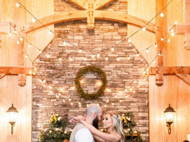 Kaleb and Brianna's Wedding in Staley, North Carolina 34
