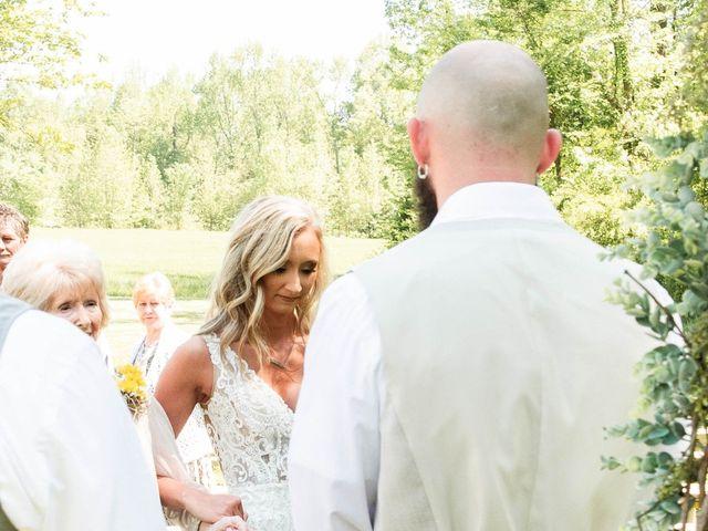 Kaleb and Brianna's Wedding in Staley, North Carolina 36
