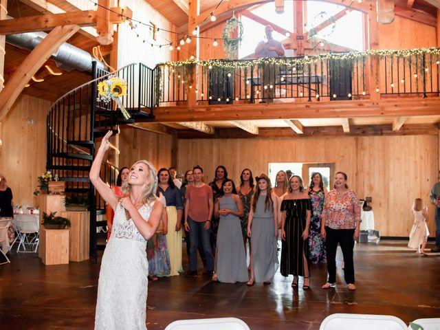 Kaleb and Brianna's Wedding in Staley, North Carolina 40