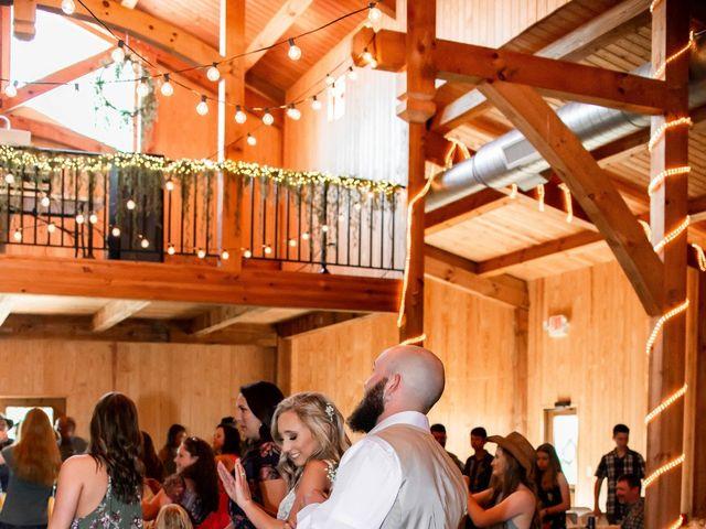Kaleb and Brianna's Wedding in Staley, North Carolina 42