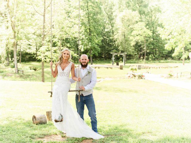 Kaleb and Brianna's Wedding in Staley, North Carolina 48