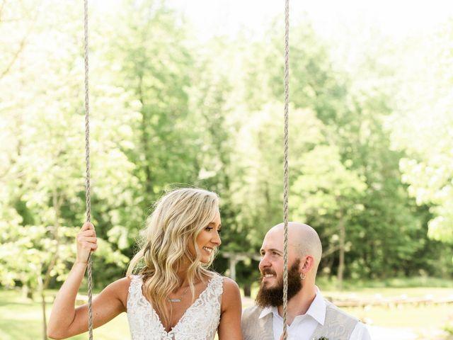Kaleb and Brianna's Wedding in Staley, North Carolina 49