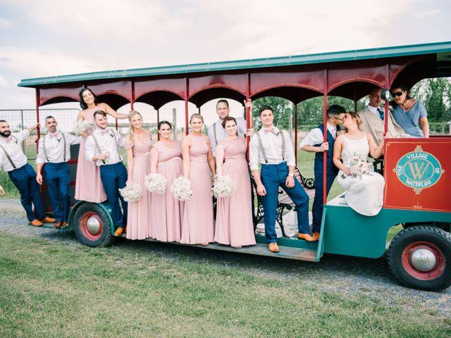 Nick and Ciarra's Wedding in Mount Bethel, Pennsylvania 12