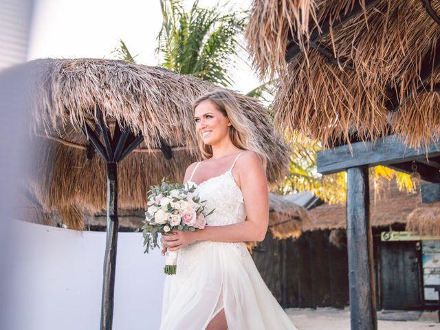 Grete and Greeg's Wedding in Tulum, Mexico 13