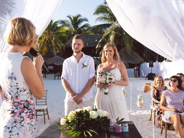 Grete and Greeg's Wedding in Tulum, Mexico 14