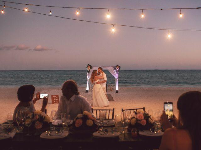 Grete and Greeg's Wedding in Tulum, Mexico 30
