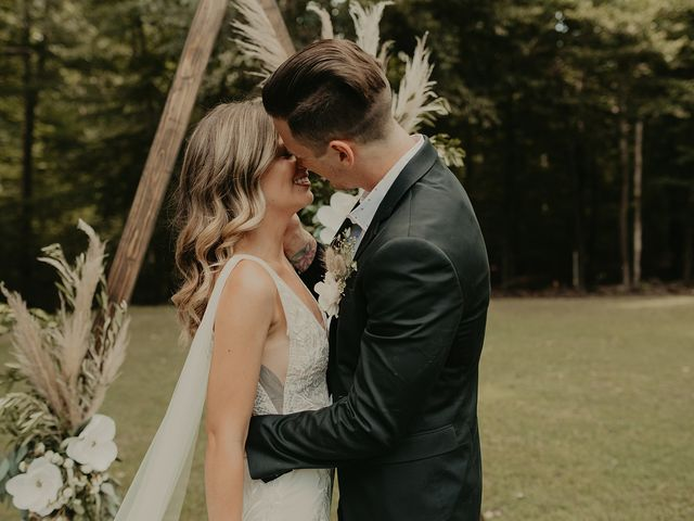 The wedding of Julia and Ethan