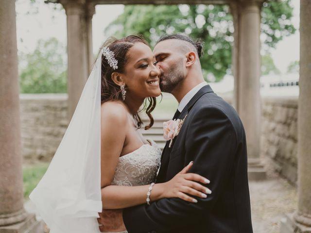 The wedding of Jessica and Elias