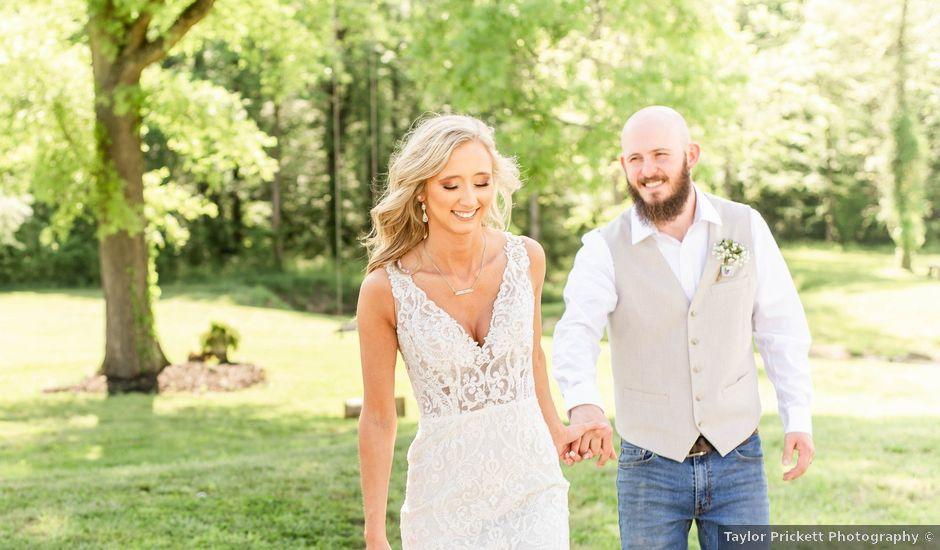 Kaleb and Brianna's Wedding in Staley, North Carolina