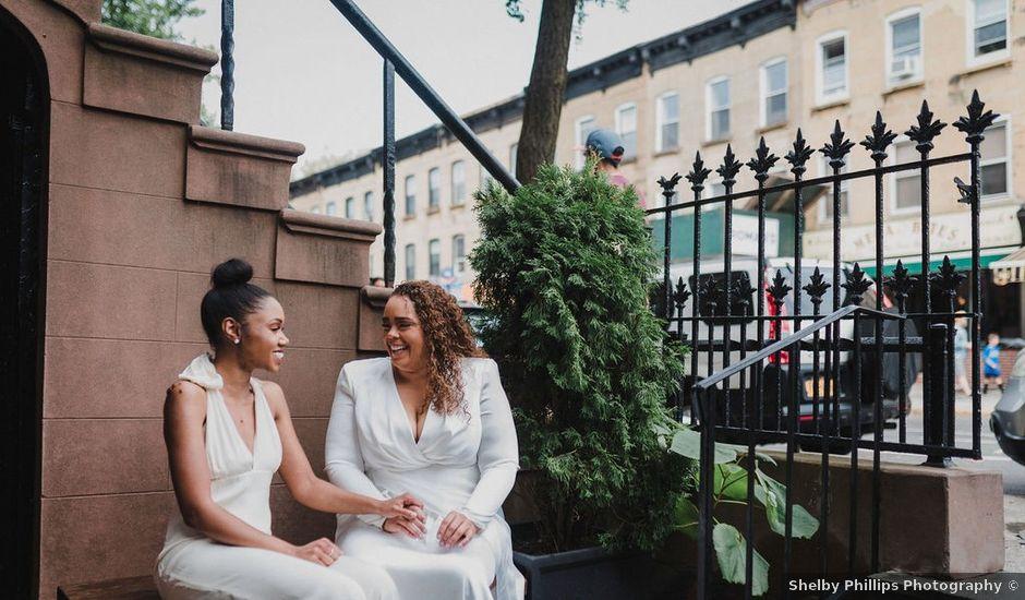 Sheena and Kia's Wedding in Brooklyn, New York