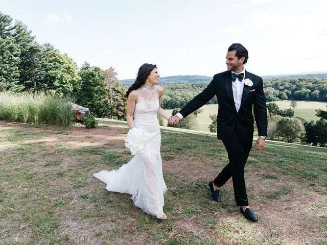 Brett and Juliette's Wedding in Peapack, New Jersey 1