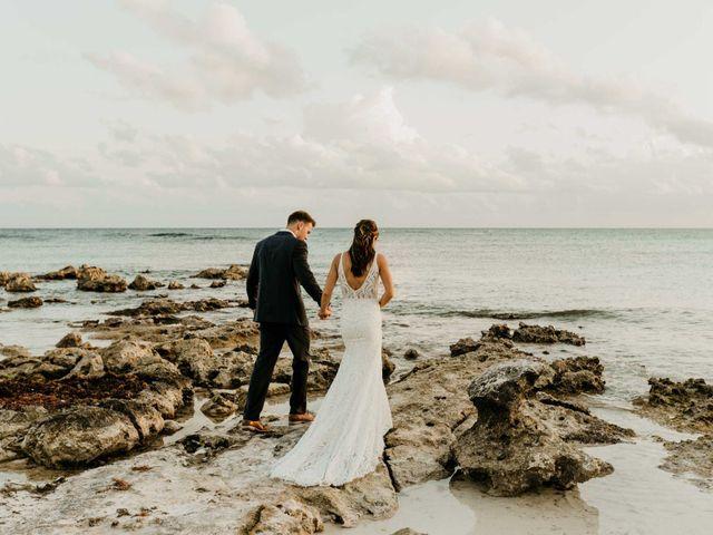Neil and Morgan's Wedding in Playa del Carmen, Mexico 14