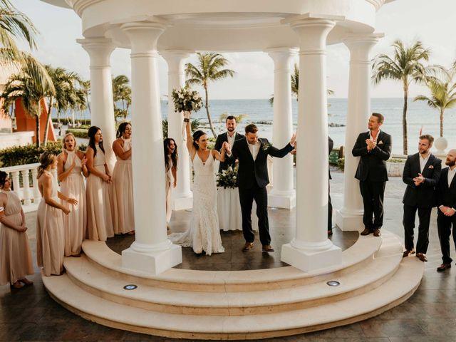 Neil and Morgan's Wedding in Playa del Carmen, Mexico 17
