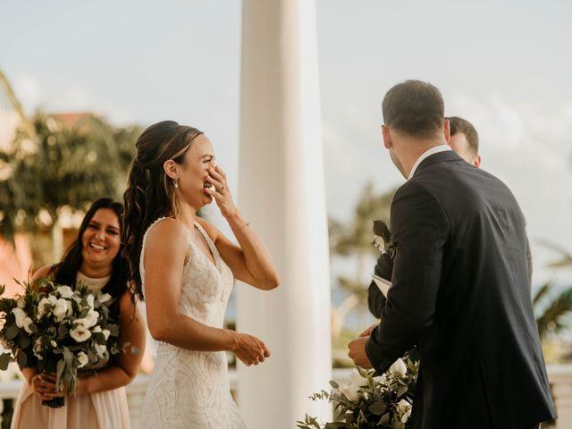 Neil and Morgan's Wedding in Playa del Carmen, Mexico 19