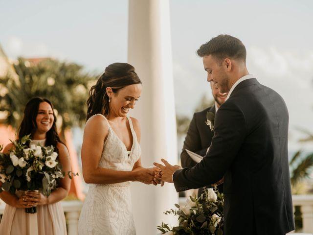 Neil and Morgan's Wedding in Playa del Carmen, Mexico 20