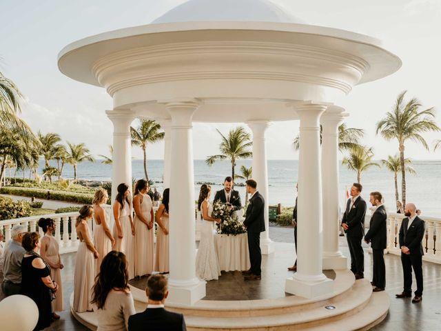 Neil and Morgan's Wedding in Playa del Carmen, Mexico 22