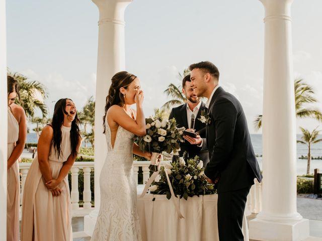 Neil and Morgan's Wedding in Playa del Carmen, Mexico 23