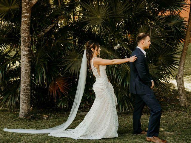 Neil and Morgan's Wedding in Playa del Carmen, Mexico 30