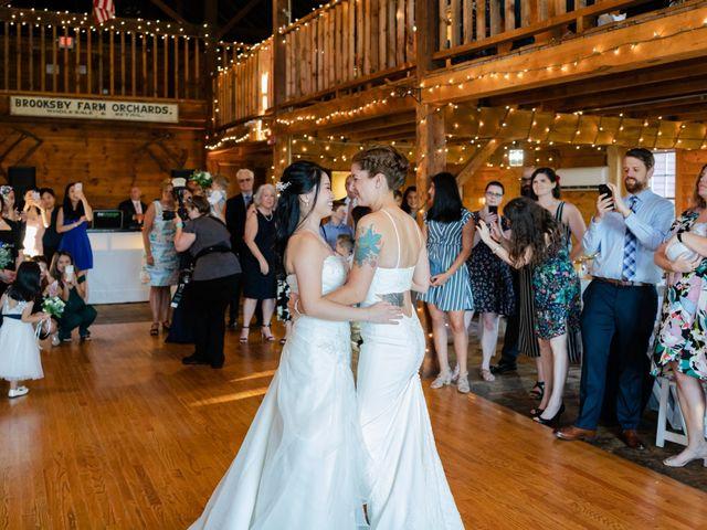 Athilia and Lauren's Wedding in Peabody, Massachusetts 34