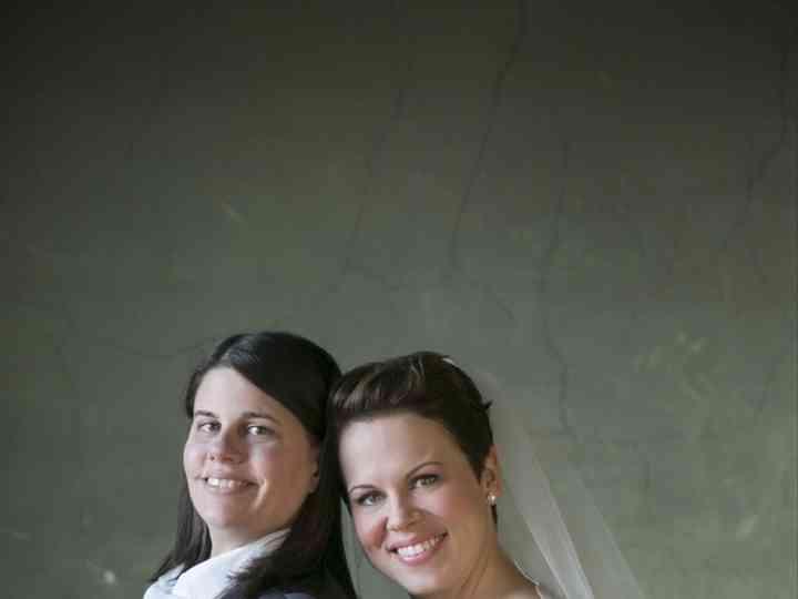The wedding of Kristen and Liz