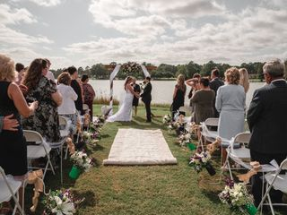 The wedding of Allie and Sam 1